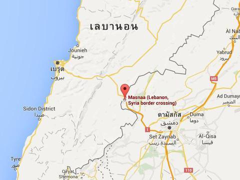 """เกิดเหตุระเบิดใน """"เลบานอน"""" ใกล้รถบัสที่มุ่งหน้าสู่ซีเรีย"""
