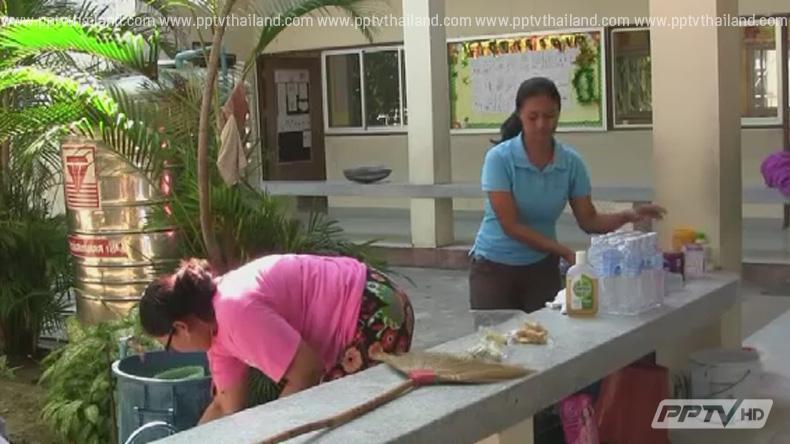 สงขลาปิดโรงเรียนทำความสะอาดยั้งโรคมือ เท้า ปากระบาด