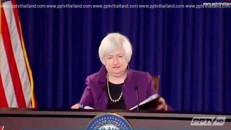 เฟดส่งสัญญาณไม่รีบขึ้นดอกเบี้ย ดันตลาดหุ้นสหรัฐปิดตัวบวก