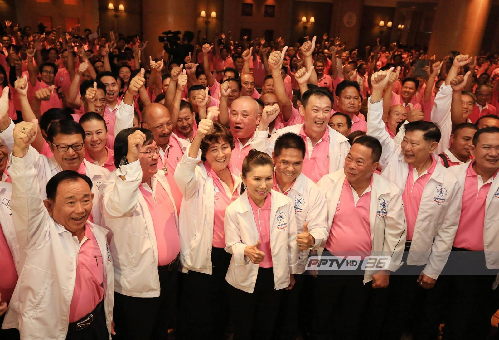 ชาติไทยพัฒนามีมติหนุนพลังประชารัฐเป็นปธ.สภาฯ