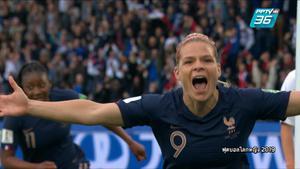 ไฮไลท์ | ฟุตบอลโลกหญิง 2019 | ทีมชาติฝรั่งเศส 4 - 0 ทีมชาติเกาหลีใต้ | 8 มิ.ย. 62