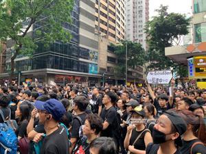 ชุมนุมใหญ่! คาดชาวฮ่องกงนับล้านคน แสดงพลังต่อต้านรัฐ