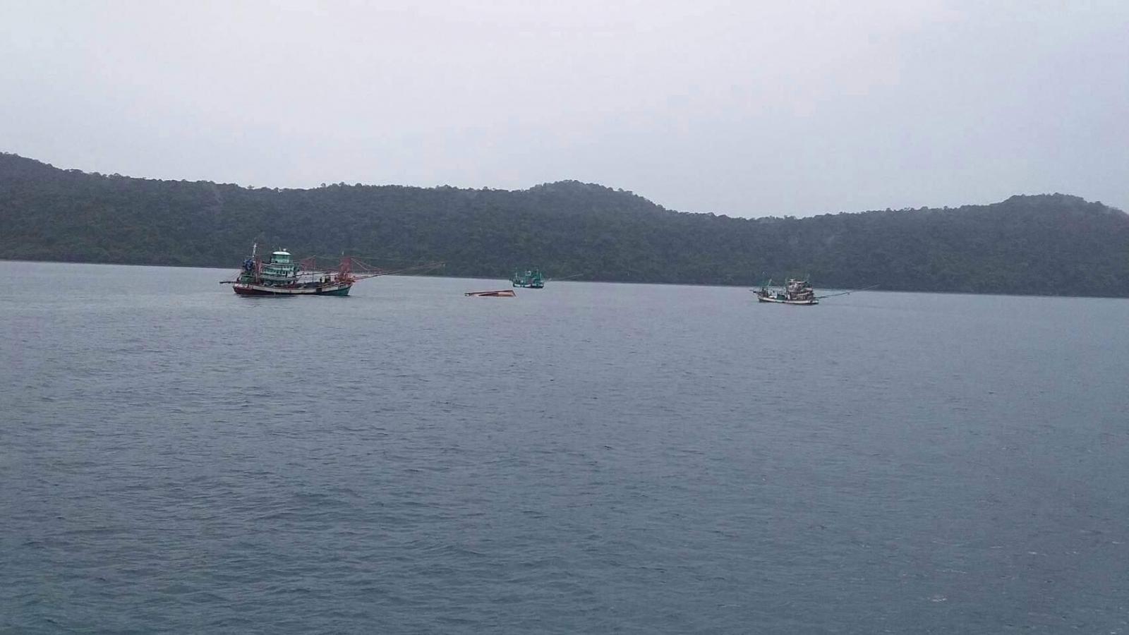 เรือประมงล่มเกาะกูด  ตาย 2