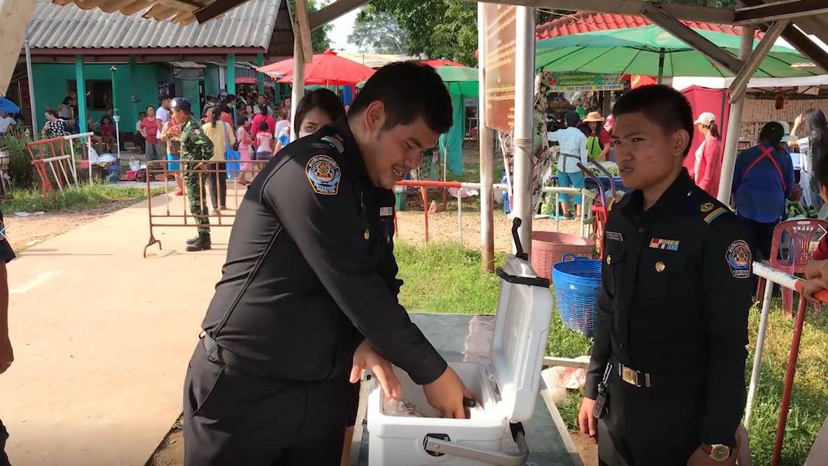 หนองคายตรวจเข้มตลาดไทย-ลาว หลังโรคอาหิวาห์แอฟริการะบาด