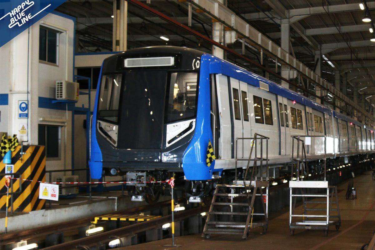 ปลาย ก.ค.นี้! เปิดทดลองนั่งฟรี รถไฟฟ้าสายสีน้ำเงิน สถานีหัวลำโพง-ท่าพระ