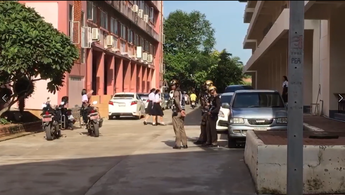 นักเรียนม.4 ร.ร.ชื่อดัง จ.ปราจีนฯ ตกตึก 7 ชั้น เสียชีวิต