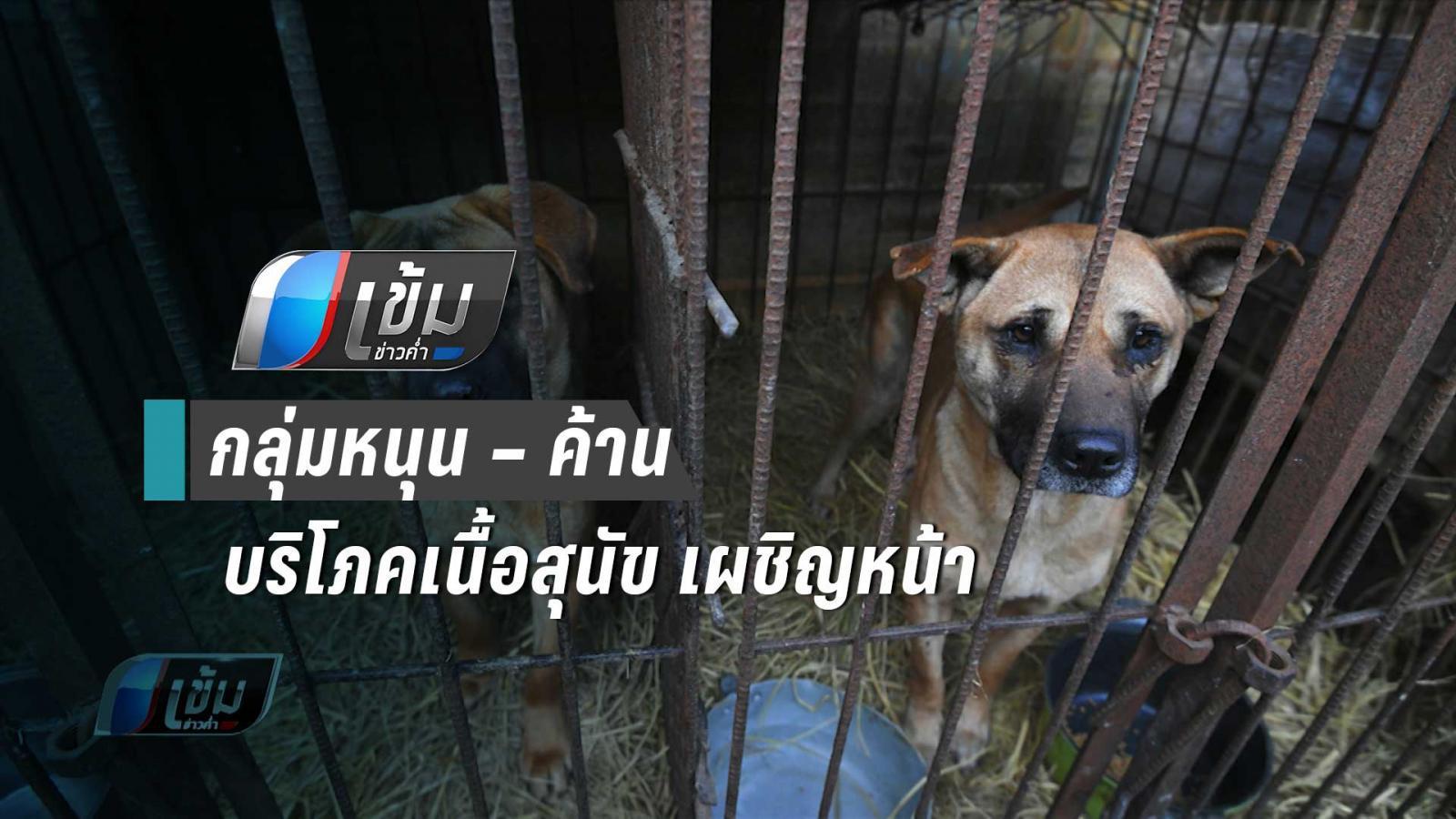 เผชิญหน้า กลุ่มหนุน – ค้าน บริโภคเนื้อสุนัขในเกาหลีใต้