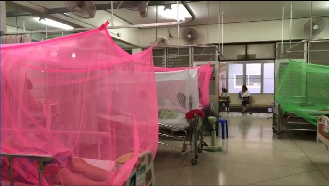 รพ.เชียงคาน กางมุ้งให้คนป่วยไข้เลือดออก หวั่นไปติดคนอื่น