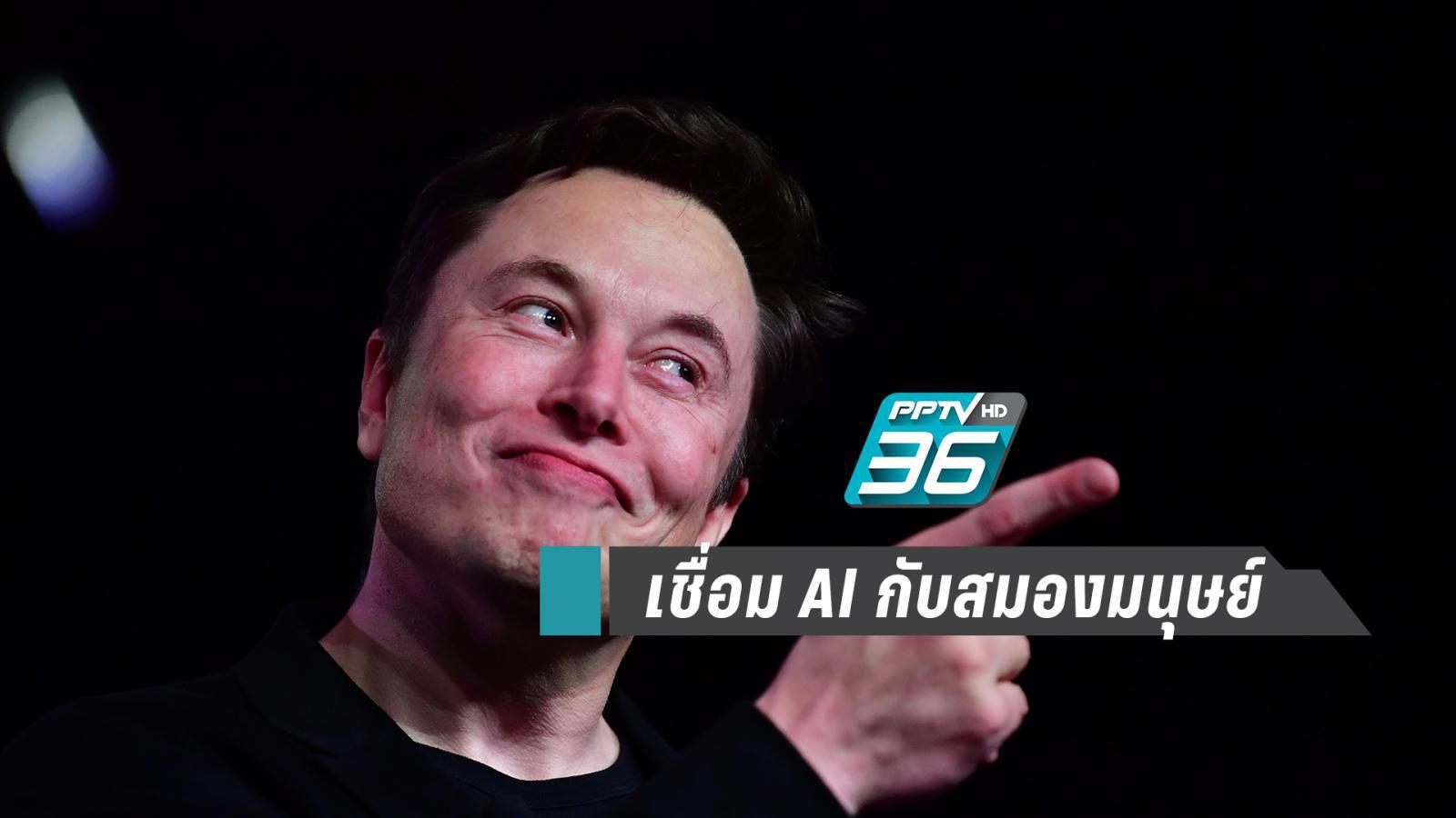 """""""อีลอน มัสก์"""" เปิดตัวระบบสุดไฮเทค เชื่อม AI  กับ สมองมนุษย์"""
