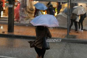 """กรมอุตุฯ เตือนพายุดีเปรสชั่น""""วิภา"""" ฝนหนัก-ลมแรงบางพื้นที่"""