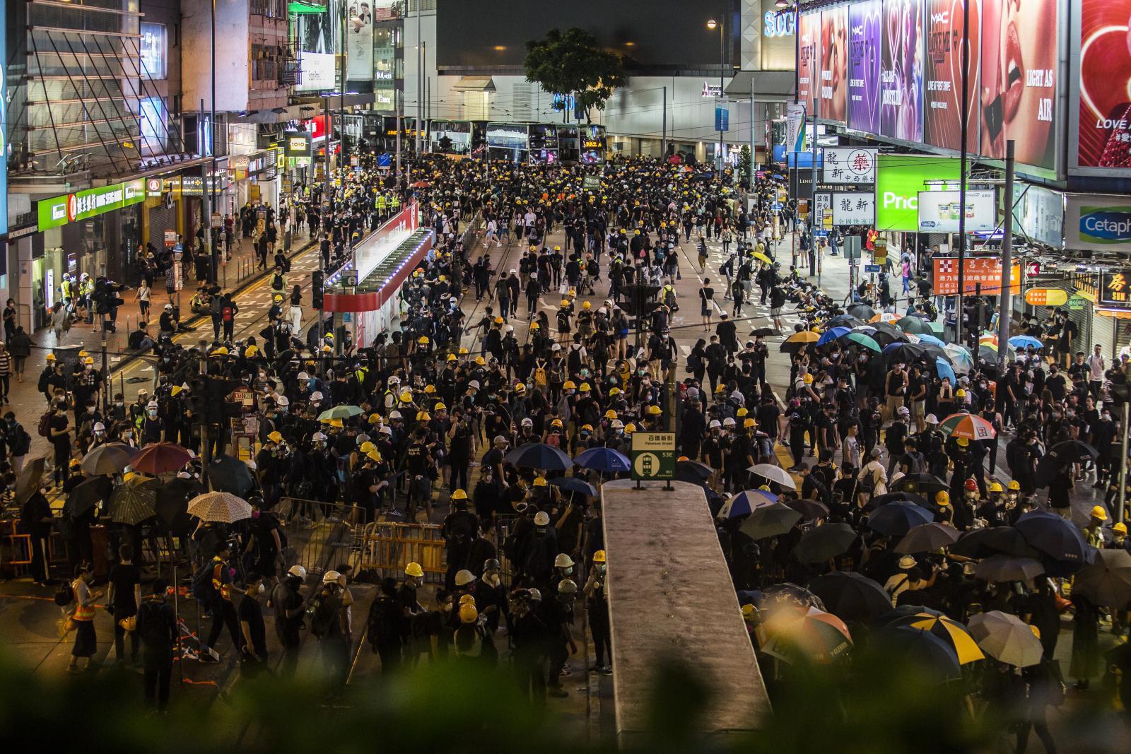ผู้ประท้วงฮ่องกงเตรียมชุมนุมครั้งใหญ่
