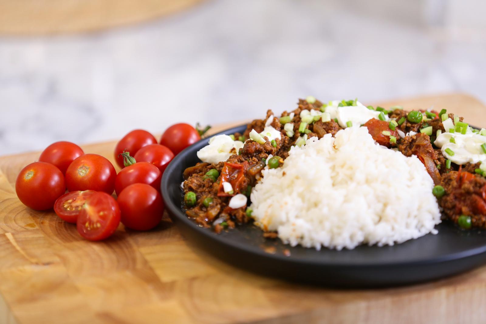 Lamb Keema Curry แกงกะหรี่แกะบดสไตล์อินเดีย BY: มิค บรมวุฒิ