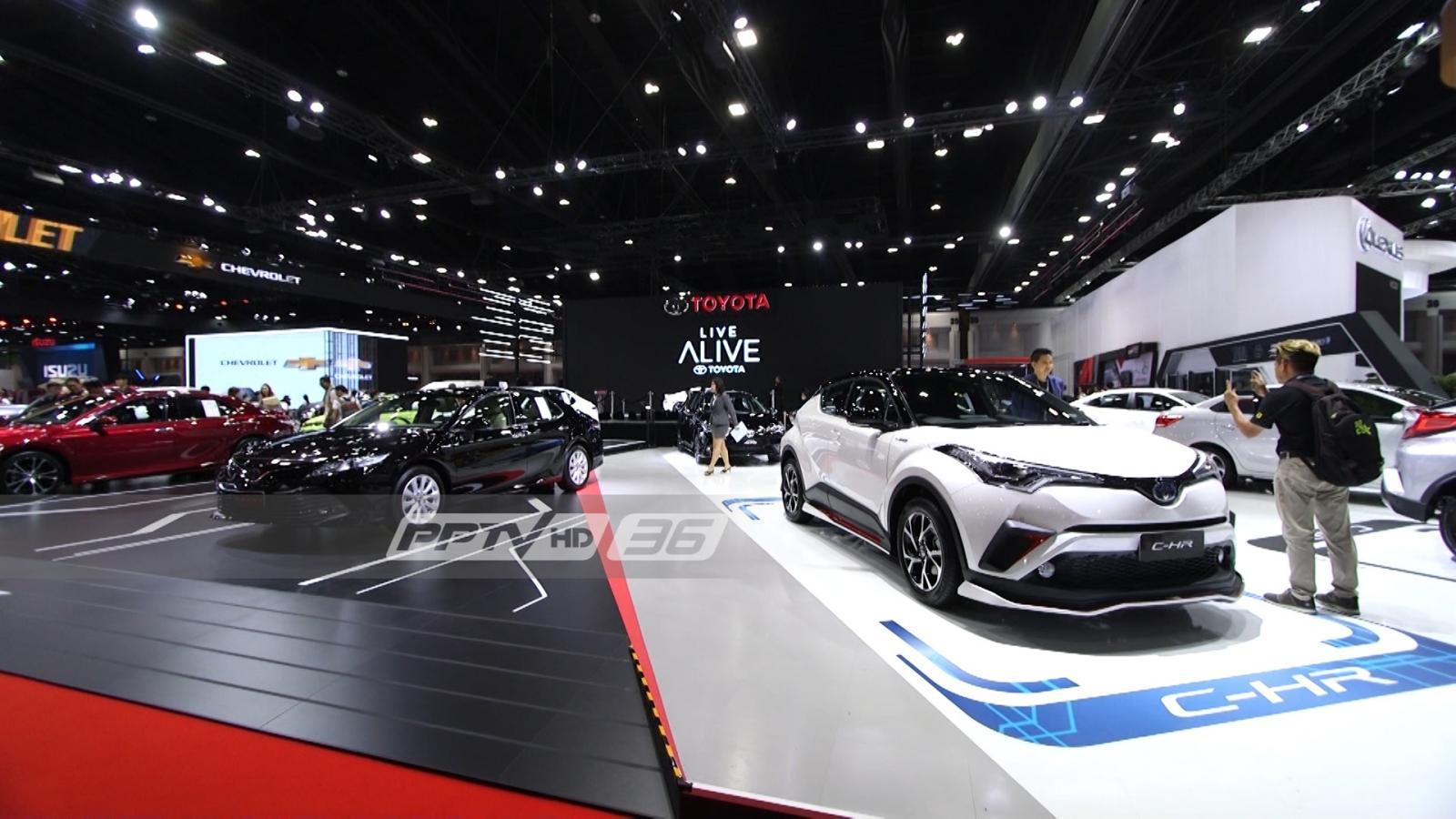 ยอดขายรถยนต์ ก.ค.62 ลด 1.1% เหตุเศรษฐกิจฟื้นช้า