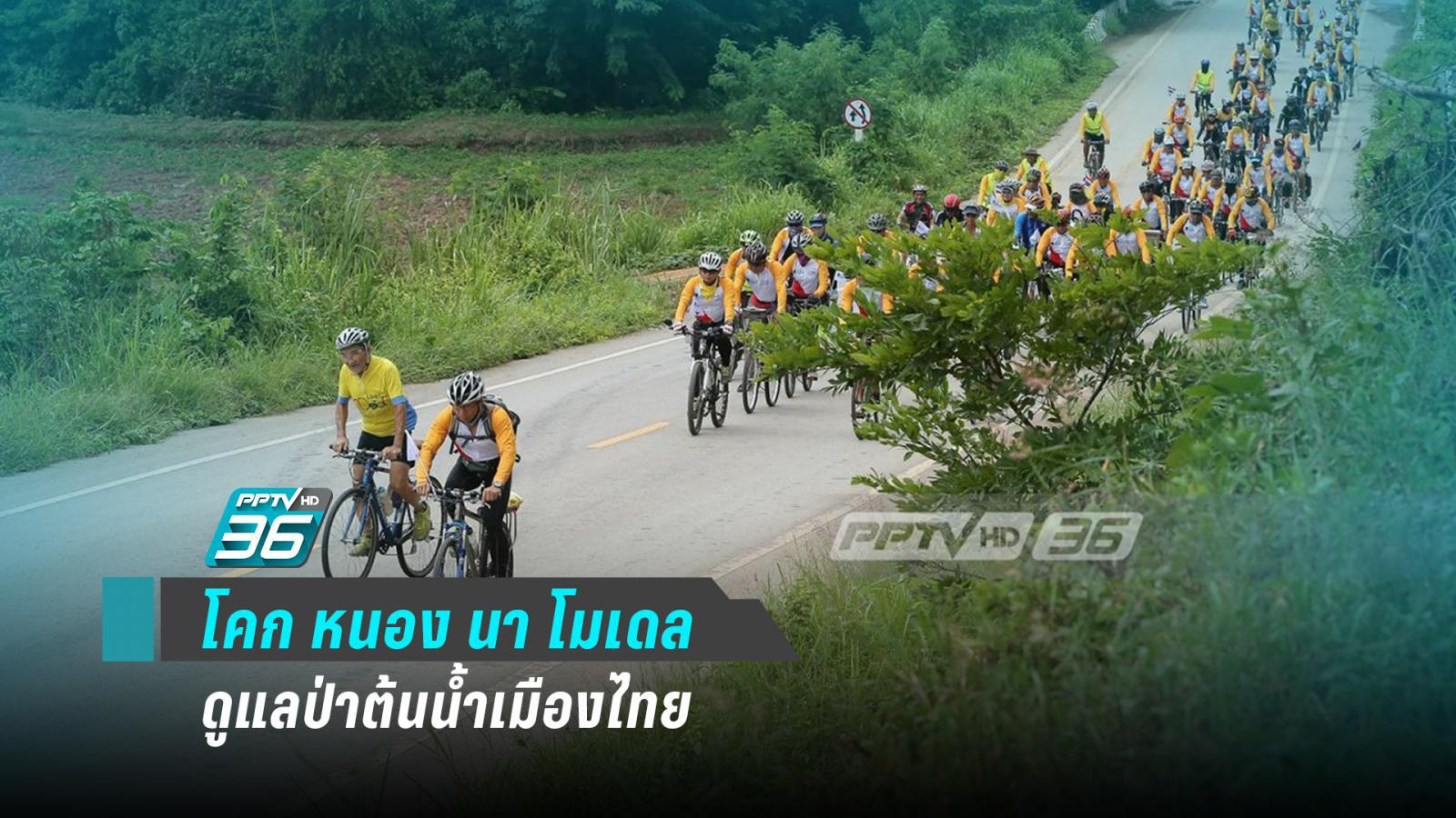 """""""โคก หนอง นา"""" โมเดล ดูแลป่าต้นน้ำเมืองไทยตามศาสตร์พระราชา"""