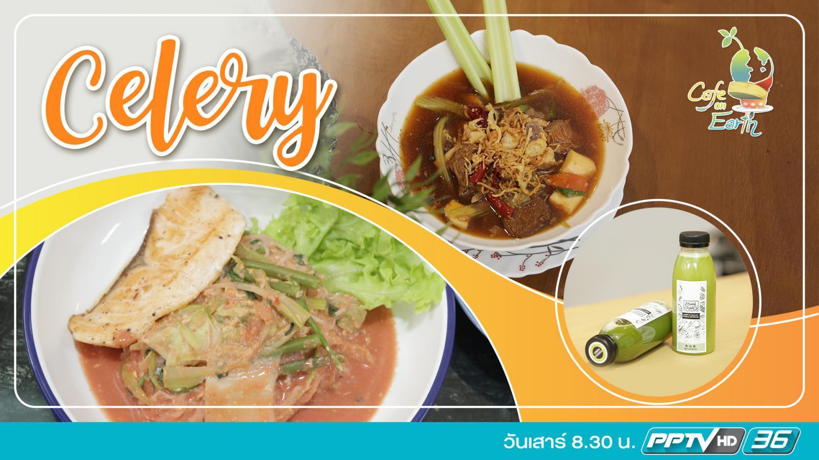 Celery - ขึ้นฉ่ายสารพัดเมนูสุขภาพ