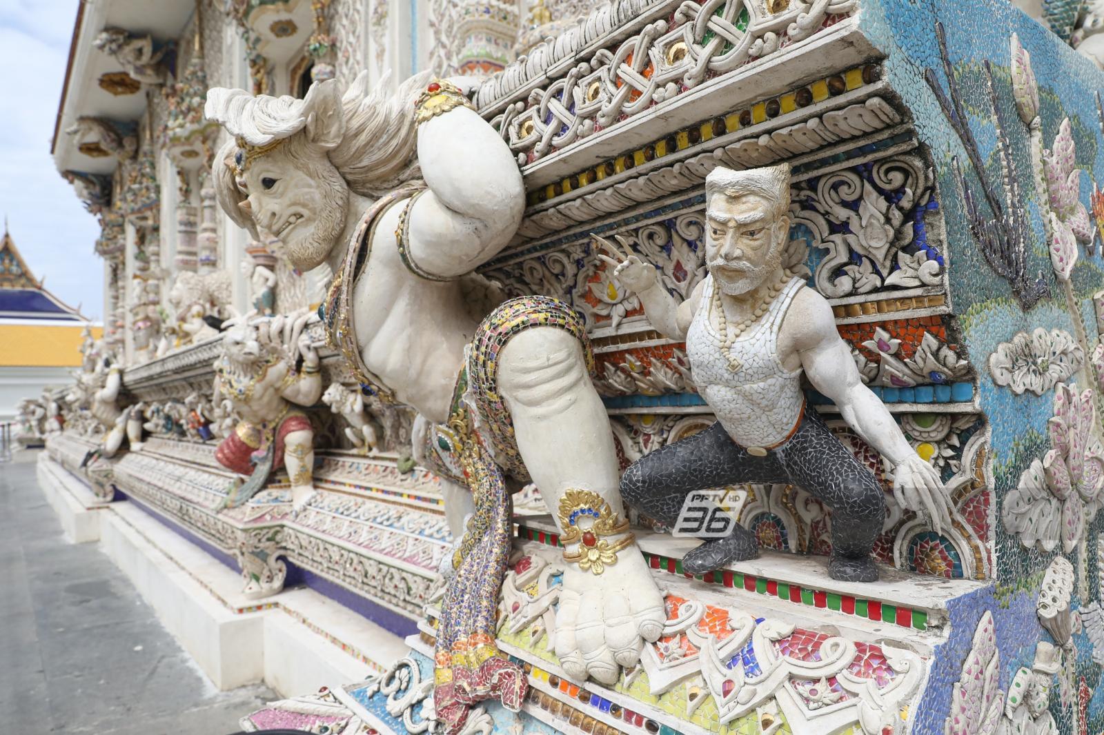 """ยลโฉมศิลปะการ์ตูนร่วมสมัย """"วัดปริวาสราชสงคราม"""" หวังเยาวชนสนใจพระพุทธศาสนา"""