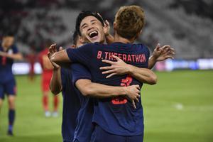 """""""นิชิโนะ"""" เผยปรับแผนครึ่งหลัง ก่อน """"ไทย"""" ถล่ม """"อินโดนีเซีย"""" 3-0"""