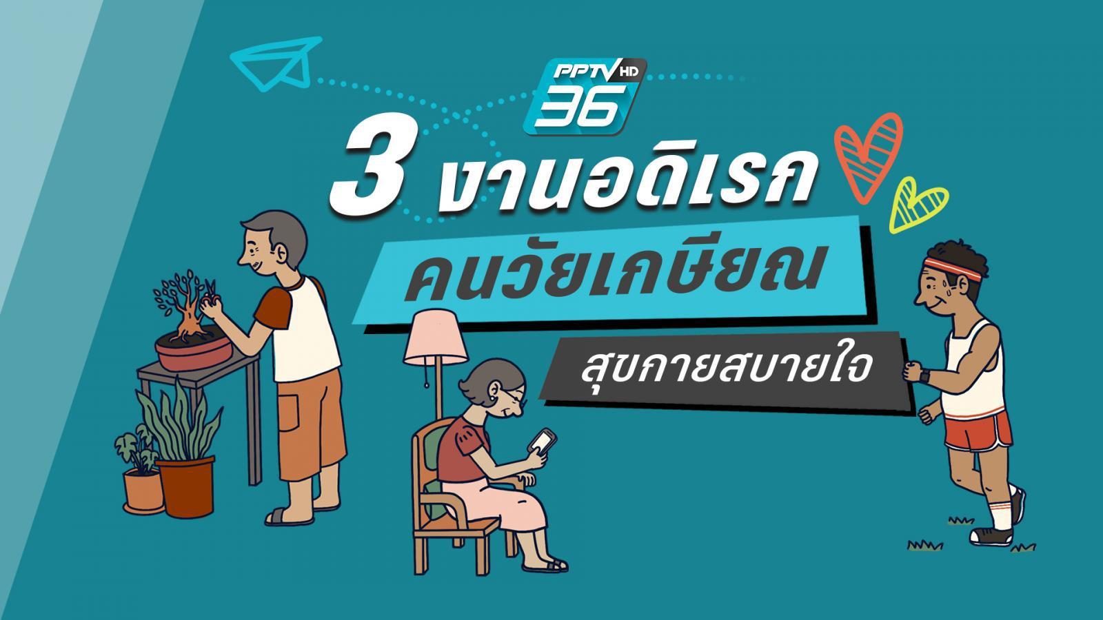 3 งานอดิเรก คนวัยเกษียณ สุขกายสบายใจ