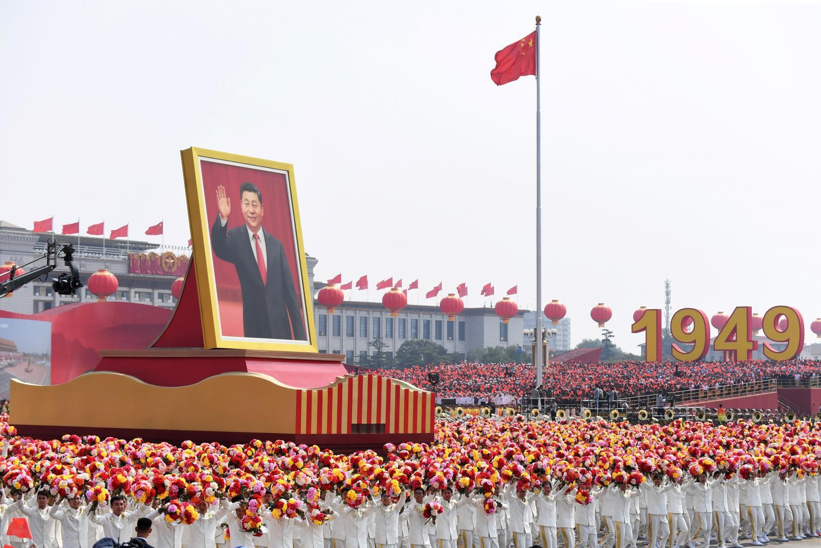 จีนฉลองวันชาติสุดอลังการ