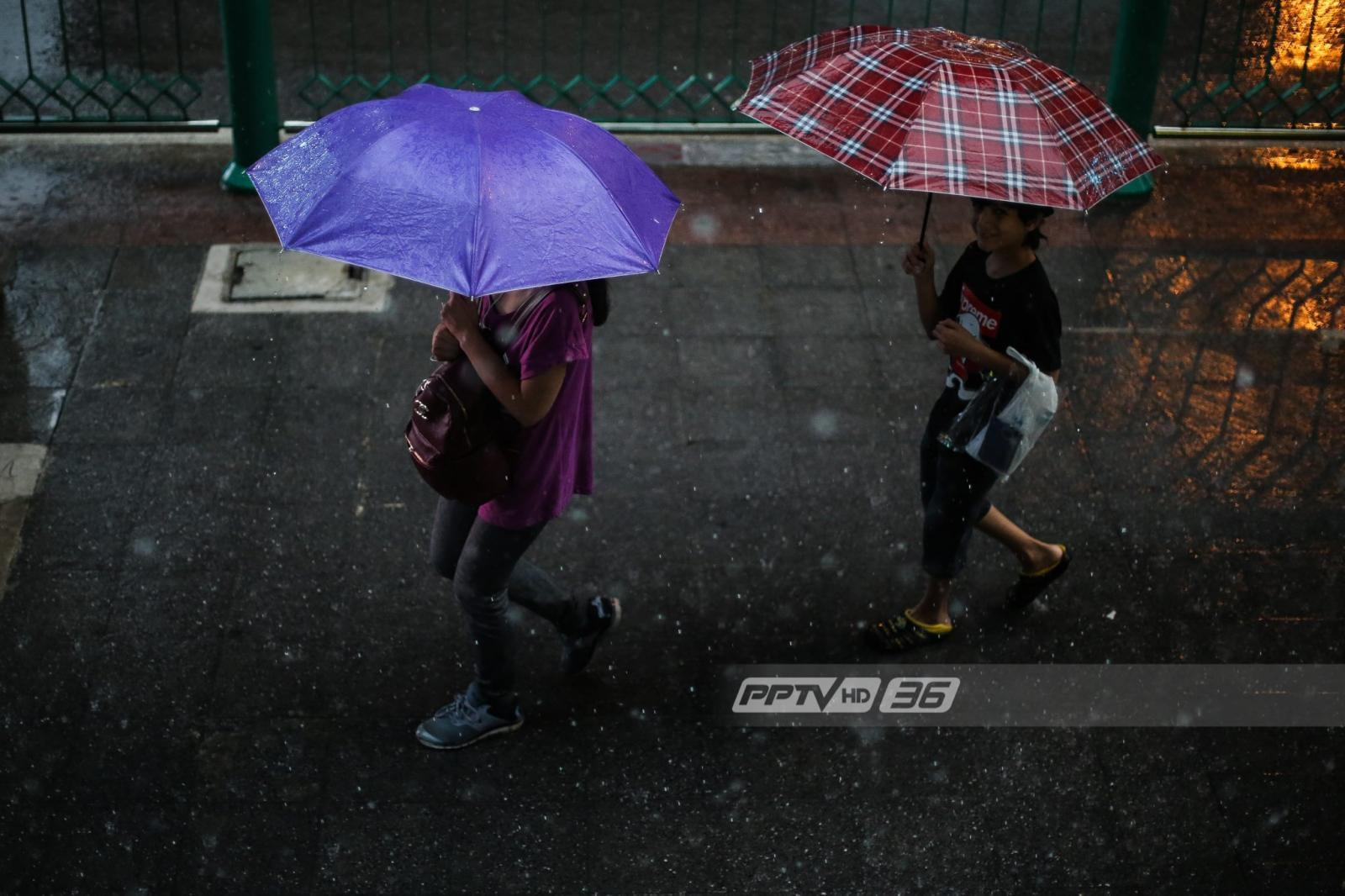 อุตุฯเตือนปชช.12-15 ต.ค. ฝนตกหนัก