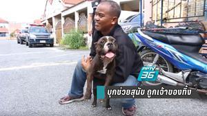 วอชด็อกไทยแลนด์ บุกช่วยสุนัขอดอาหาร ถูกเจ้าของทิ้งไว้ในบ้านนานครึ่งเดือน