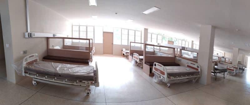 รพ.คูเมืองบุรีรัมย์ เผยภาพห้องพักผู้ป่วยสะอาด สุดสวย จากเงินบริจาคประชาชน