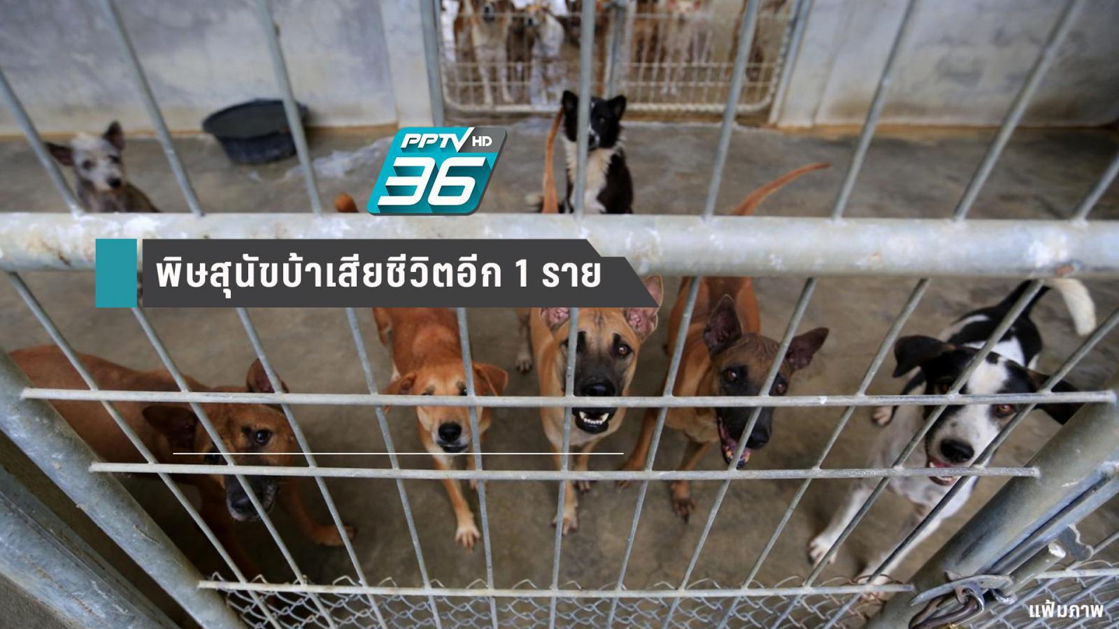 พิษสุนัขบ้าคร่าชีวิตรายที่ 3 ของปี 62