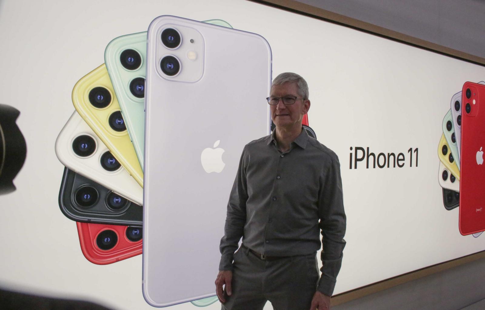 ยอดขายไอโฟนลดลง 9 เปอร์เซนต์