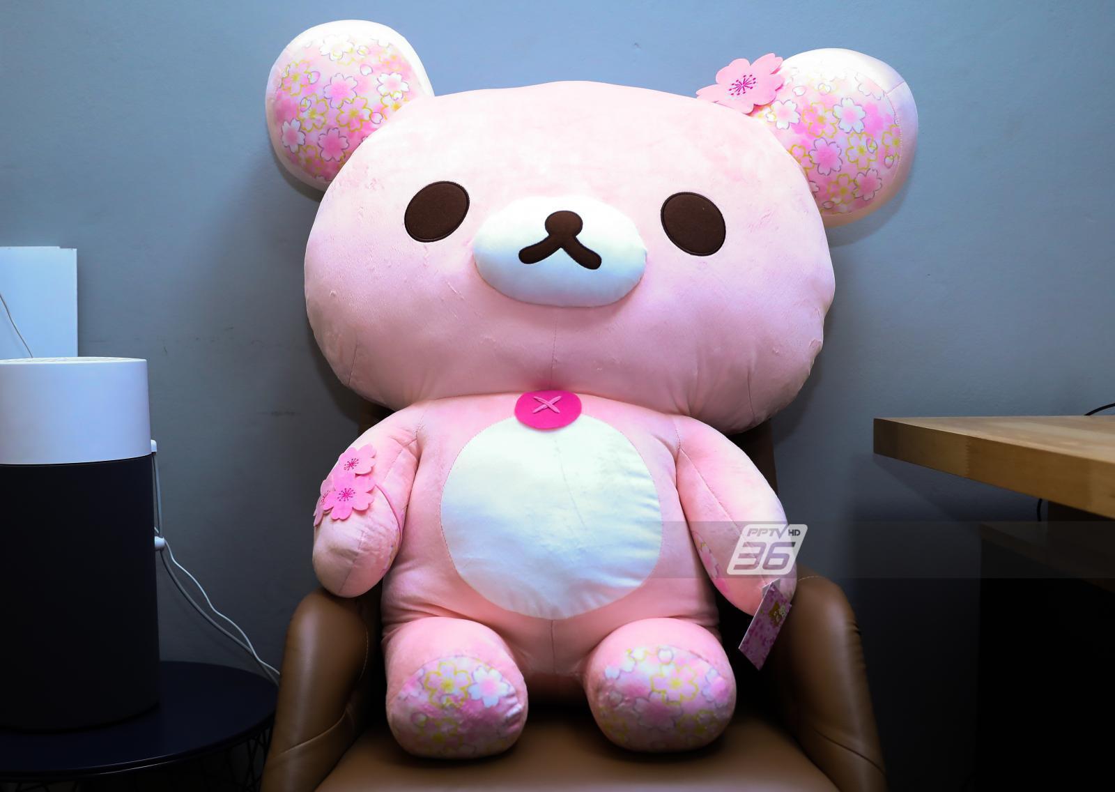"""รู้จัก """"หมีริลัคคุมะ""""  ถูกสร้างขึ้นเพื่อสร้างความผ่อนคลาย"""