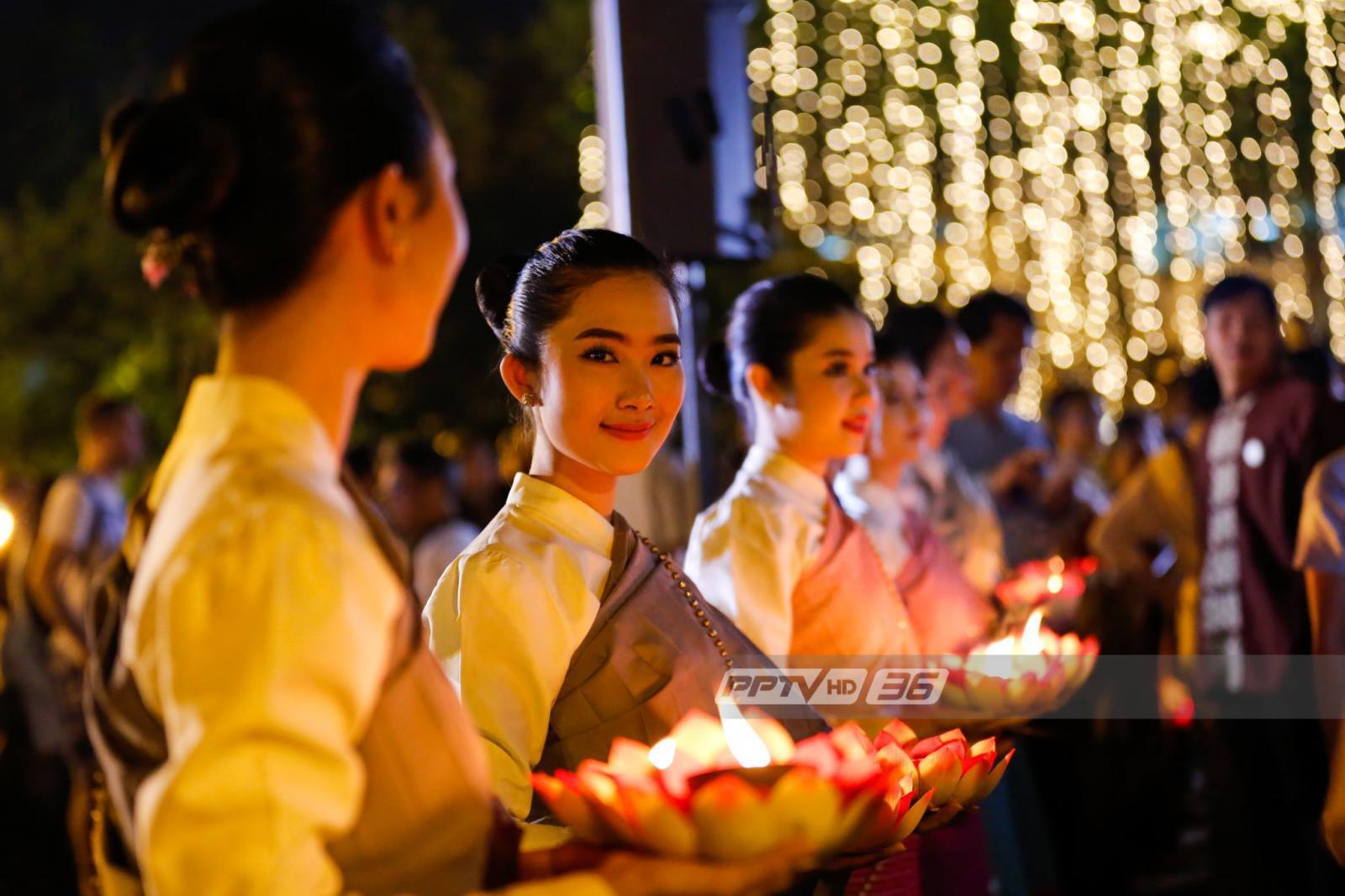 สภากาชาดไทย ชวนปชช.แต่งชุดไทย บริจาคเลือดก่อนลอยกระทง