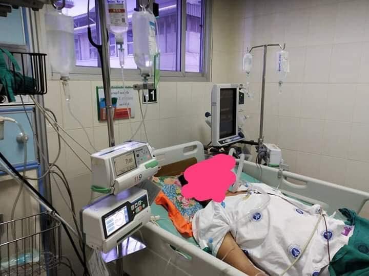 สุดซาบซึ้ง! คุณหมอใจบุญ ช่วยระดมทุนรักษาคนไข้ชาวลาว หลังญาติถอดใจไม่มีเงินรักษาต่อ
