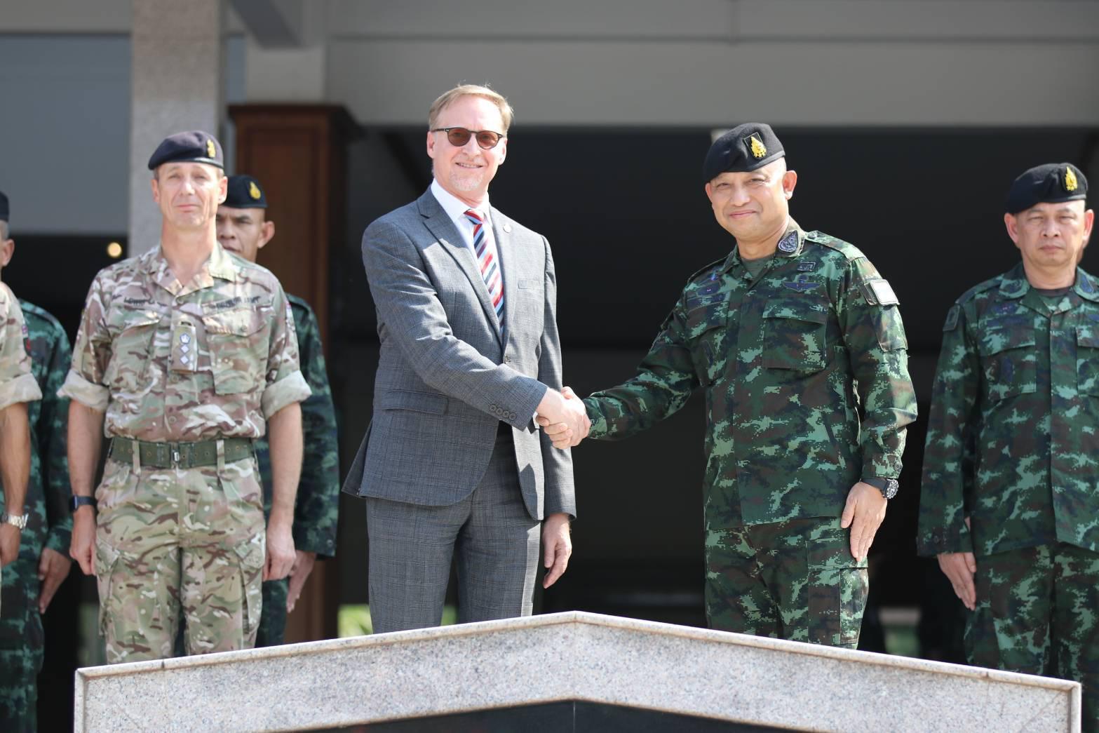 """อังกฤษ ส่ง """"กองพันกูรข่า"""" ฝึกผสมกองทัพไทย รหัส Panther Gold 2019"""
