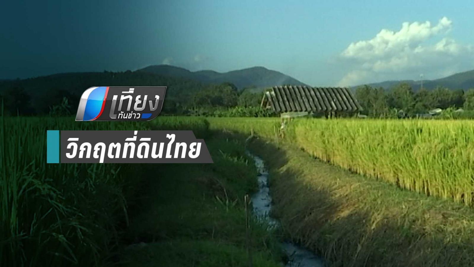 นักวิชาการชี้วิกฤตที่ดินไทย เหตุคนรวยกว้านซื้อหมด