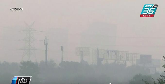 """มลพิษทางอากาศ ธุรกิจขายออกซิเจนเฟื่องฟูใน """"นิวเดลี"""""""