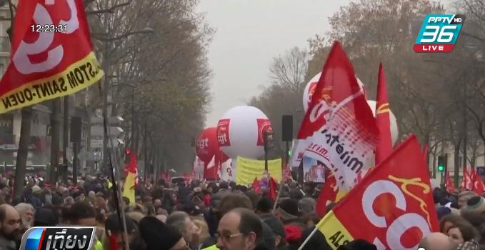 หยุดงานประท้วงในฝรั่งเศสส่อยืดเยื้อ