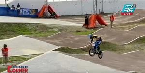 """""""โกเมธ"""" คว้าทอง BMX เหรียญทองที่ 5 ของจักรยาน ซีเกมส์ 2019"""