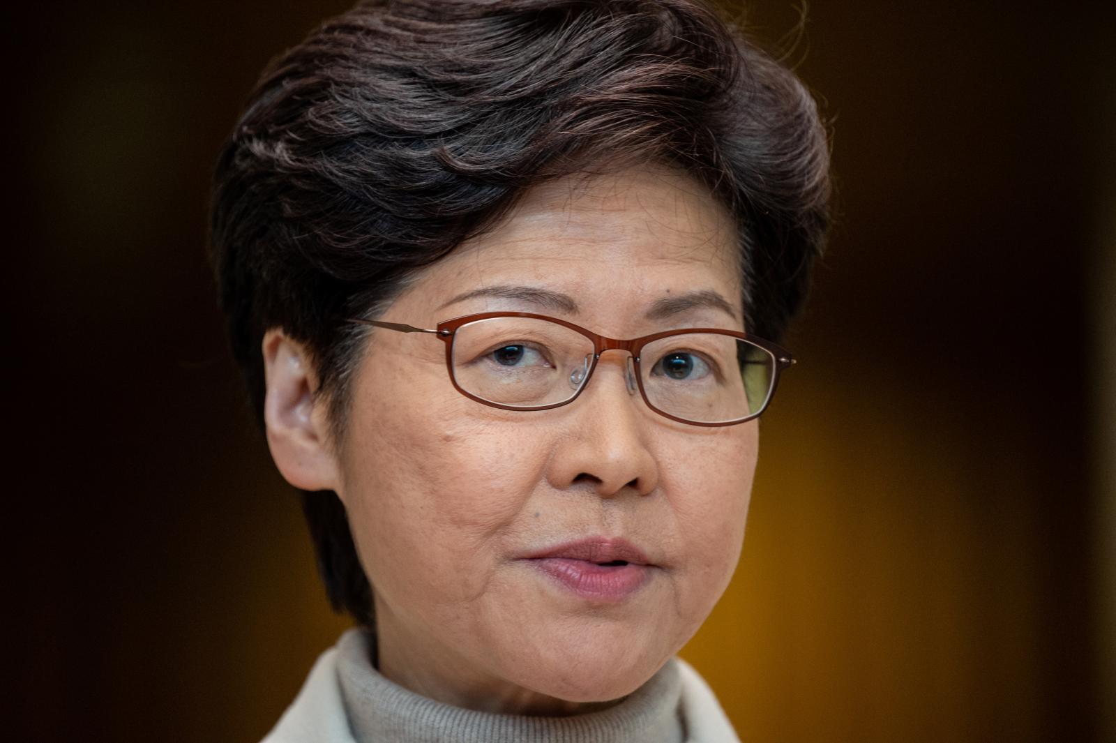 ผู้บริหารฮ่องกงเยือนกรุงปักกิ่ง หารือวิกฤตม็อบ