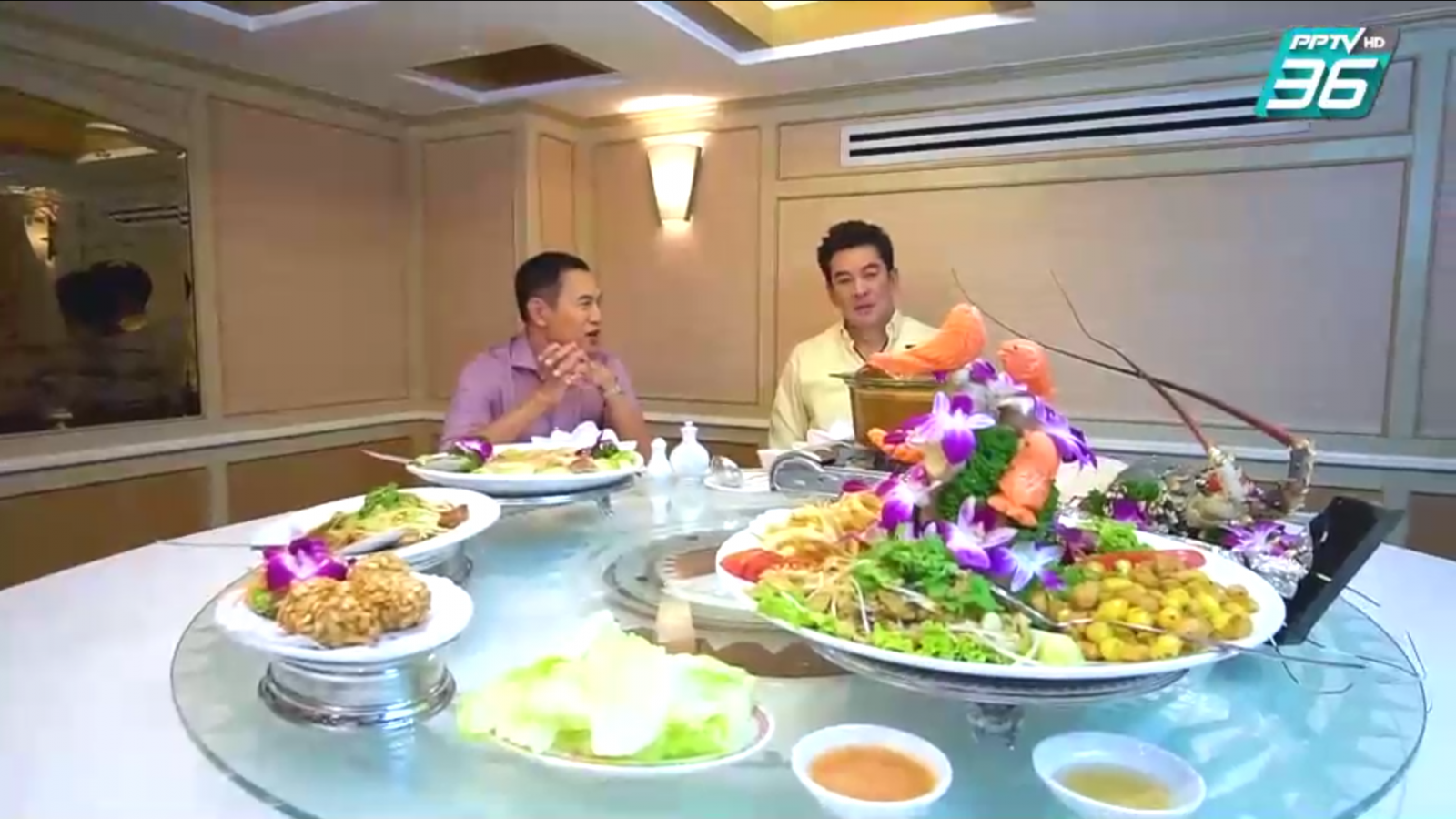อาหารจีนแบบคลาสสิก ที่ ภัตตาคาร เชียงการีล่า Shangri la Restaurant