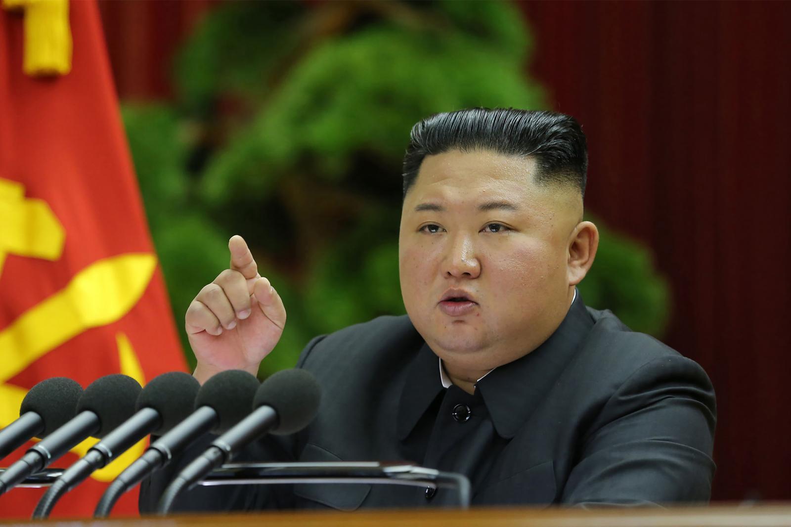 """""""คิมจองอึน""""ประชุมผู้บริหารพรรครัฐบาล"""