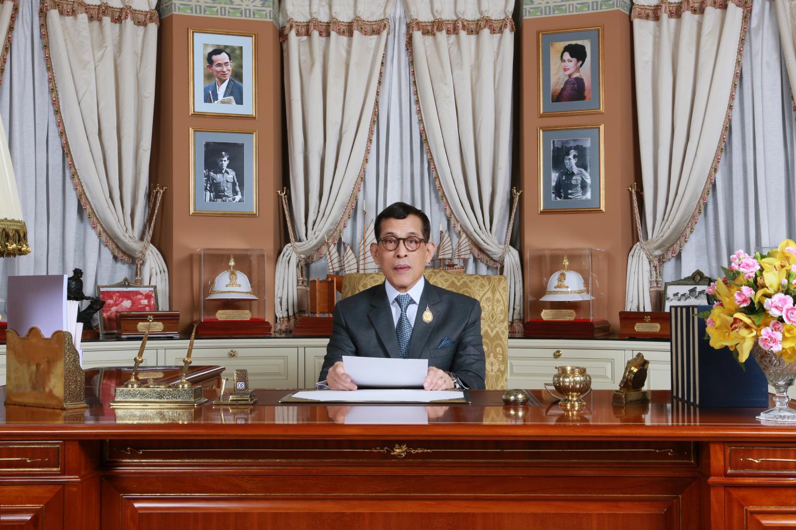 ในหลวง พระราชทานพรปีใหม่ พ.ศ.2563 แก่ปวงชนชาวไทย
