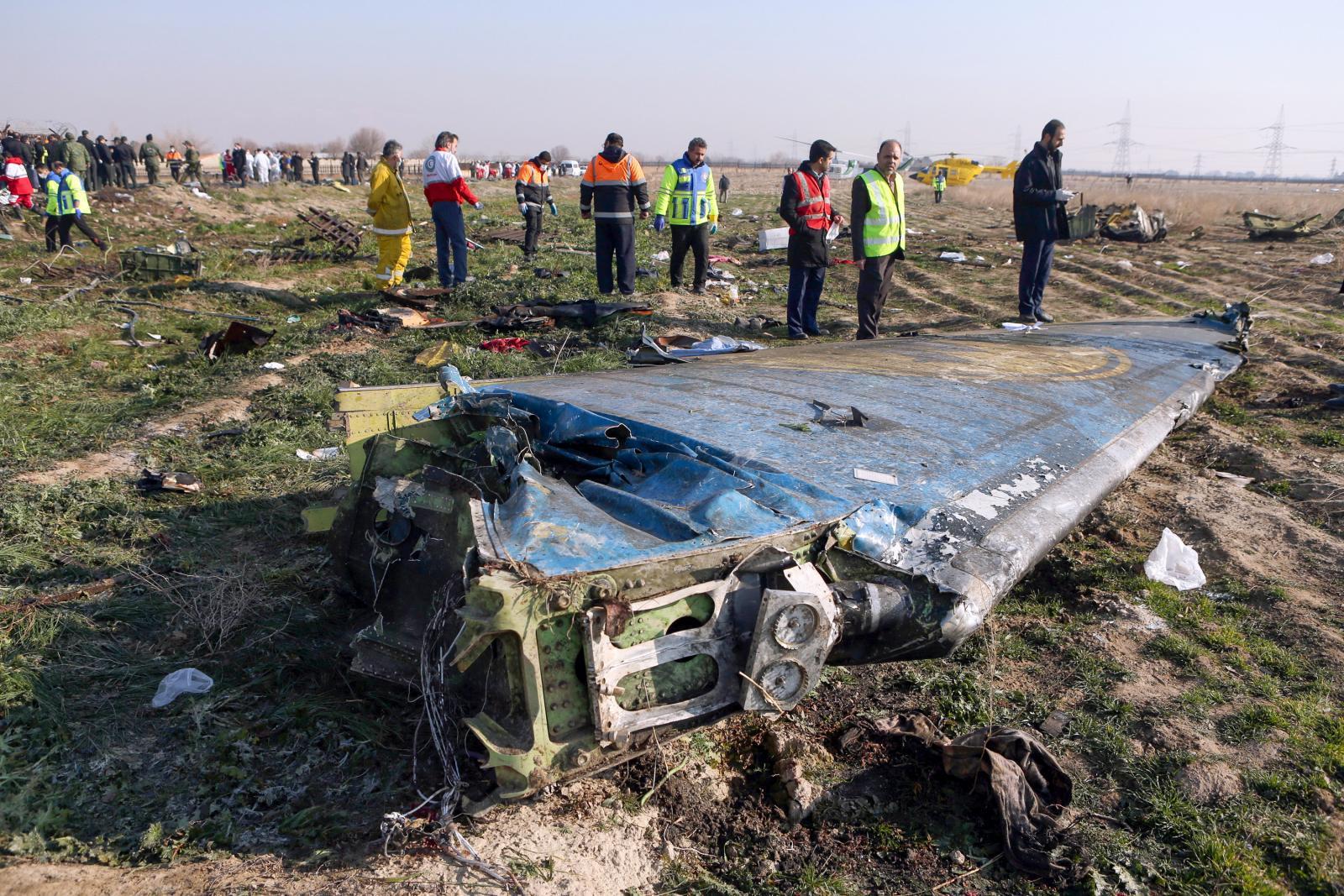 อิหร่านยอมรับยิงเครื่องบินยูเครนตกจริง แต่ไม่ตั้งใจ