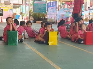 ศูนย์เด็กเล็กฯ ต้นแบบพัฒนาหลักสูตร - ปลูกฝังความปลอดภัยทางถนน