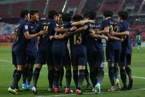 """เข้ารอบ! """"ทีมชาติไทย"""" ยู-23 เสมอ""""อิรัก"""" 1-1 ศึกชิงแชมป์เอเชีย"""