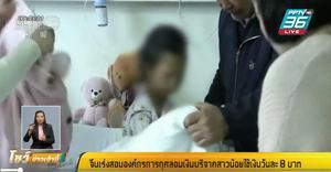 จีนสอบองค์กรการกุศลหลังถูกกล่าวหาอมเงิน 'อู่ ฮัวหยาง' ใช้วันละ 8 บ.