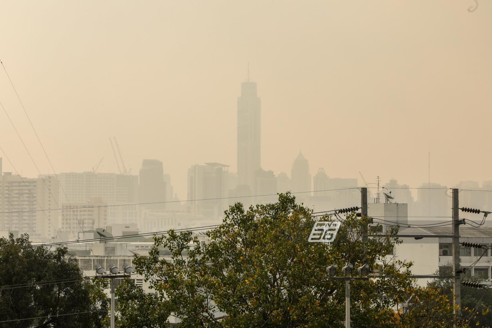 ไทย ฝุ่น PM 2.5 เกินค่ามาตรฐาน 38 พื้นที่ กทม.หนักสุด