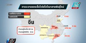 จีน พบผู้ติดเชื้อไวรัสโคโรนา เพิ่ม 291 คน