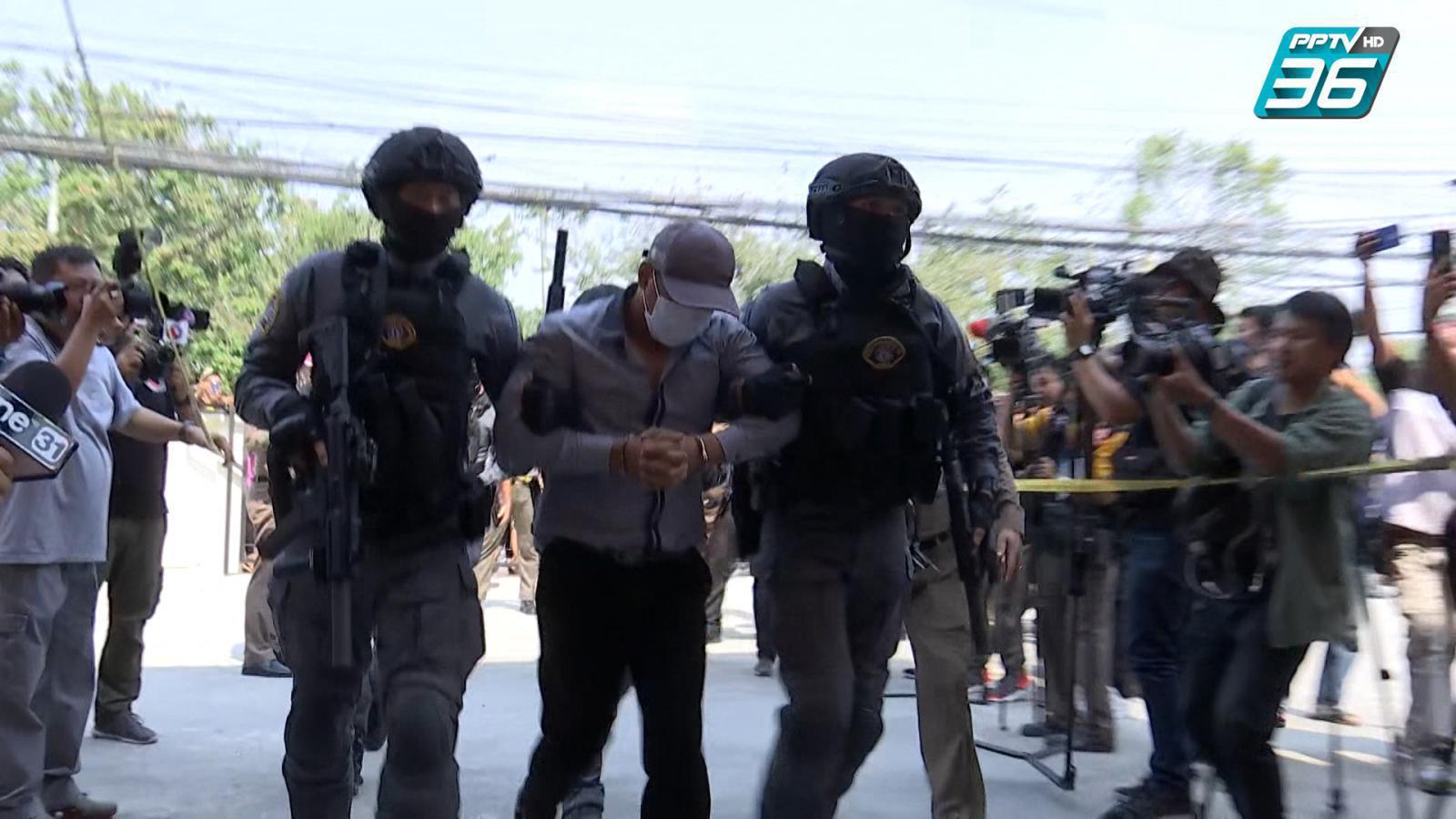 ผบ.ตร.ยืนยันจับคนร้ายปล้นทองลพบุรี ไม่มีจับแพะ รับสารภาพเอง