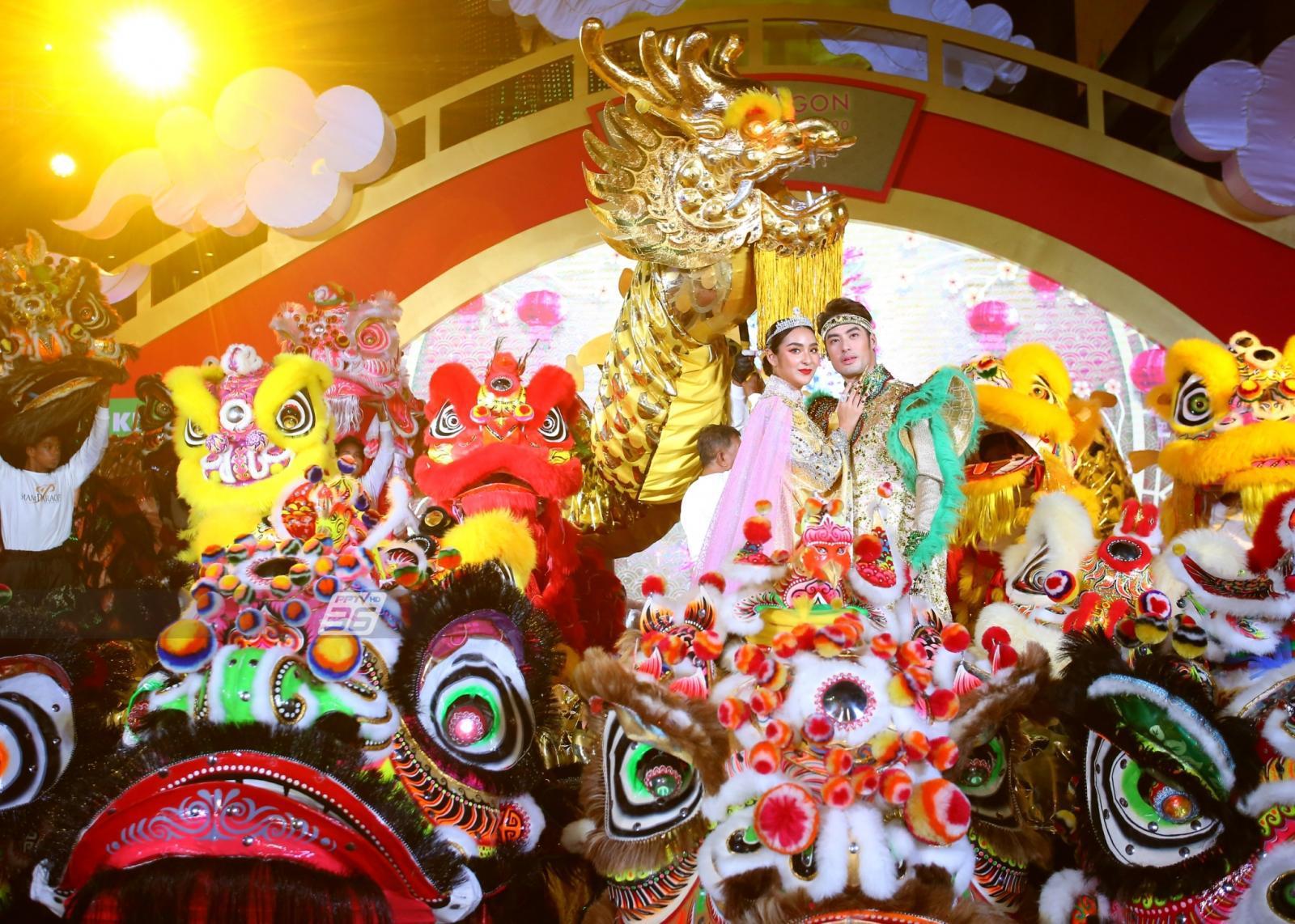 """พารากอน จัดใหญ่ """"ตรุษจีนปีหนูทอง"""" เฉลิมฉลองเทศกาลมหามงคลแห่งความรุ่งโรจน์"""