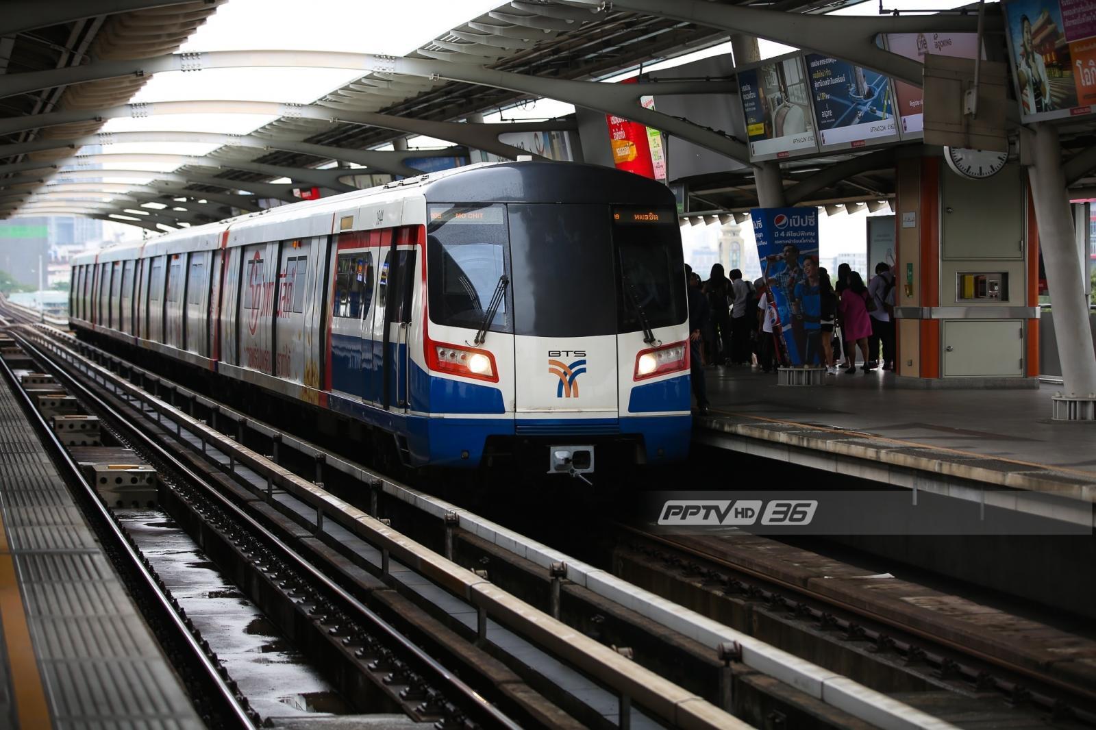 """ผู้โดยสารตกรางรถไฟฟ้า """"บีทีเอส"""" สถานีราชเทวี"""