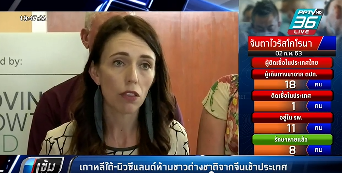 ไวรัสโคโรนา: เกาหลีใต้-นิวซีแลนด์ห้ามชาวต่างชาติจากจีนเข้าประเทศ